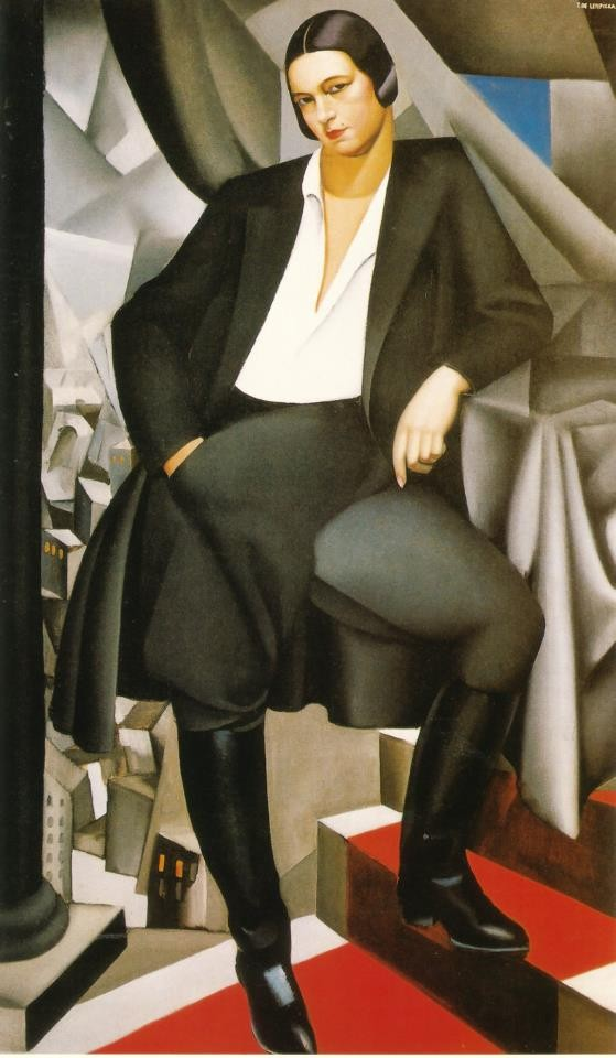Portrait of the Duchess of La Salle, 1925, Tamara de Lempicka
